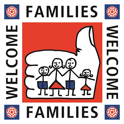 familys welcome logo