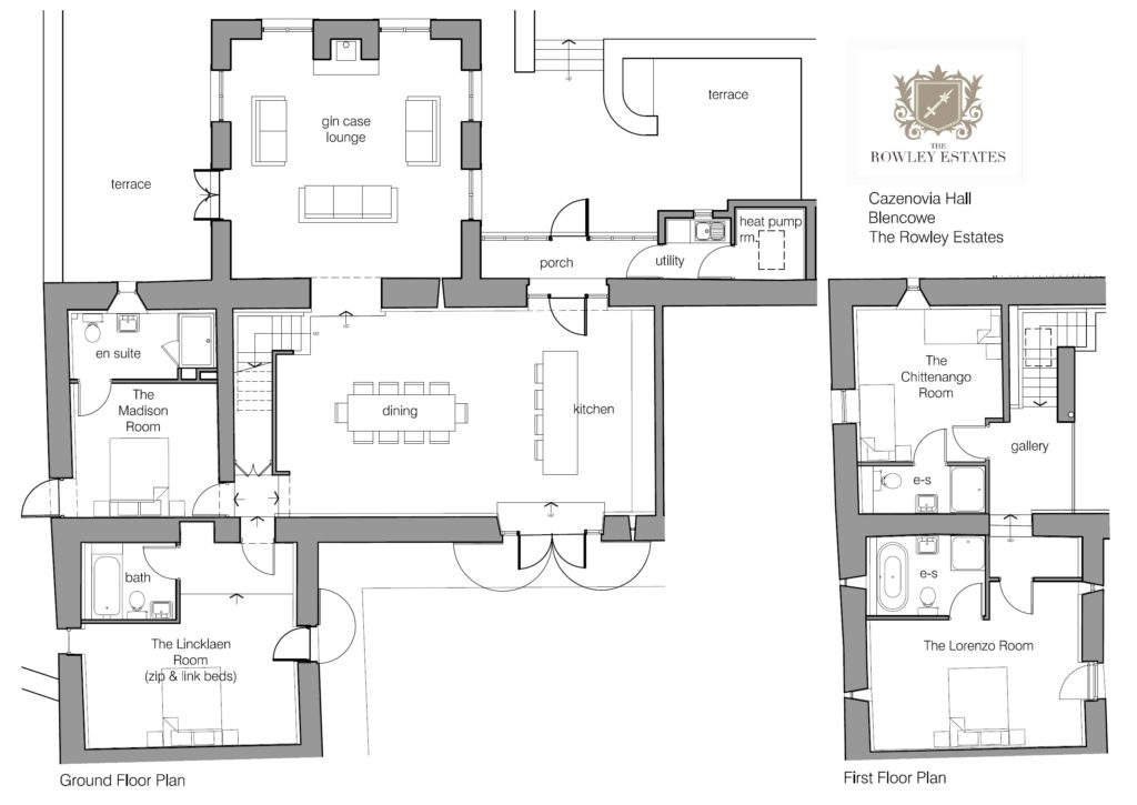 Cazenovia Hall Floor Plan - click to view as PDF