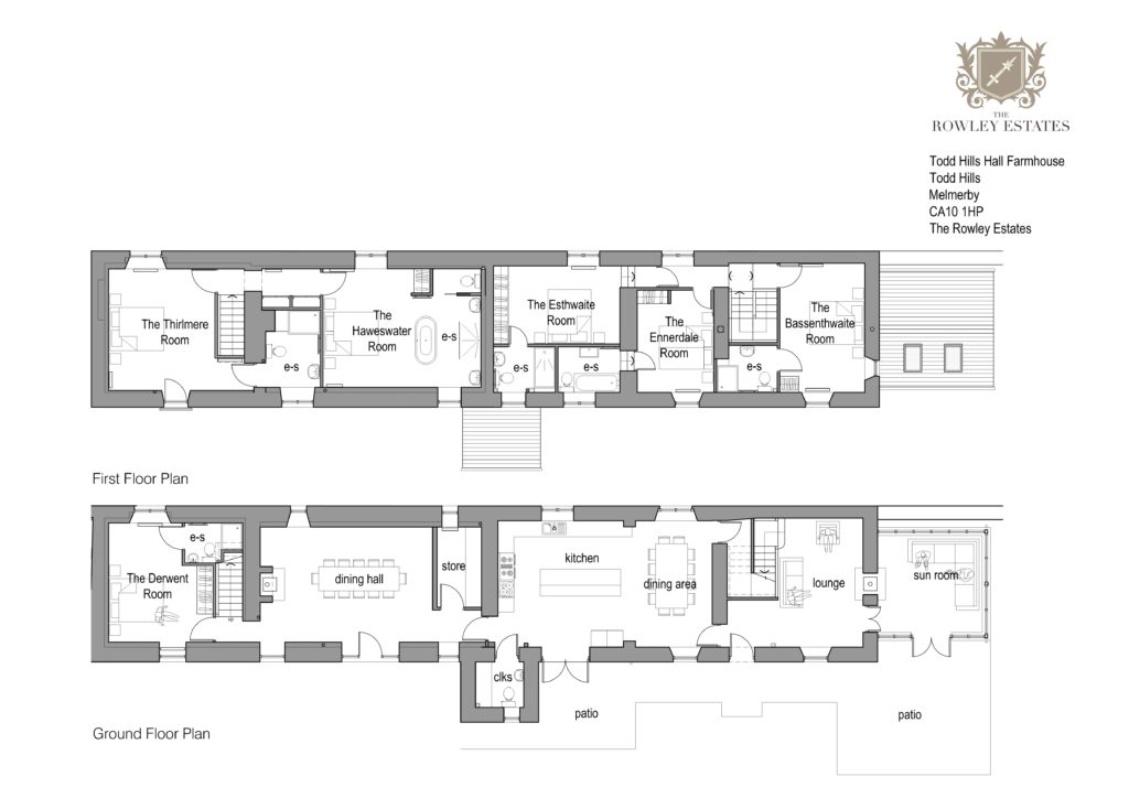 Todd Hills Hall Farm House Floor Plans jpg - click to view as PDF